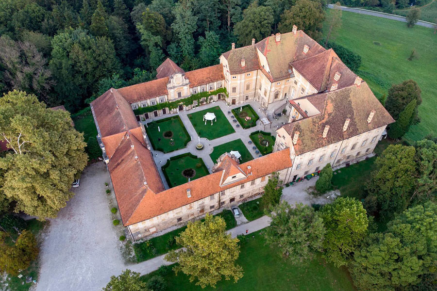 Best Castles Of Slovenia - Štatenberg Manor