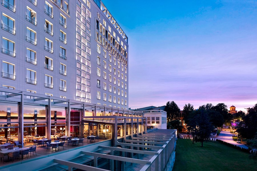 Serbia Travel Blog_Where To Stay In Belgrade_Hotel Metropol Palace