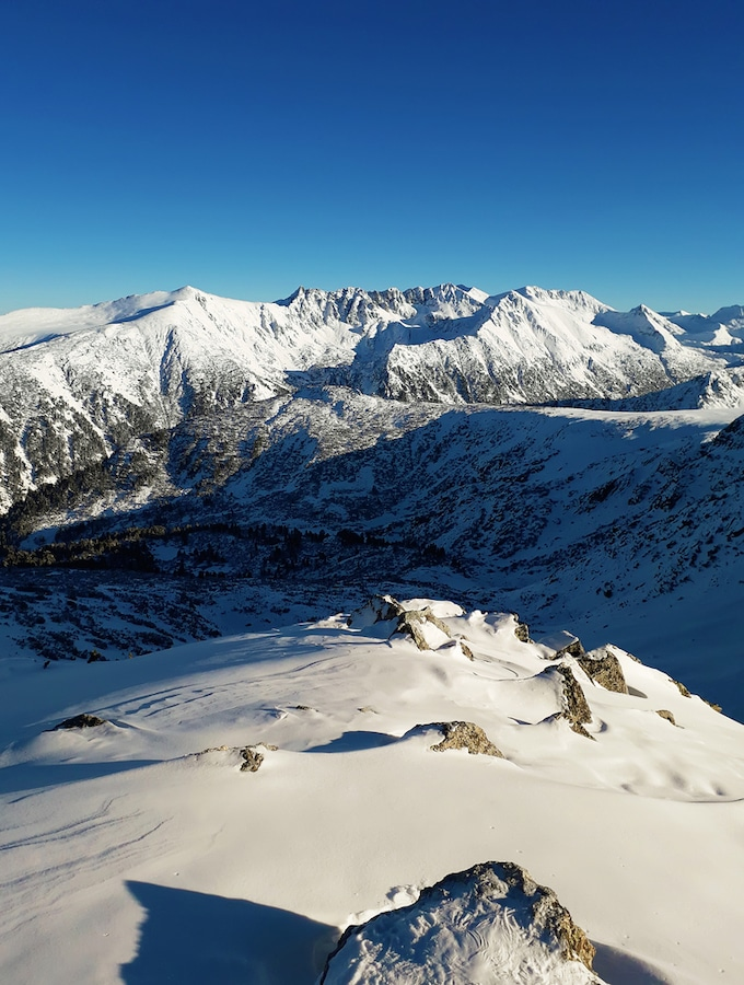 Bansko Accommodation - Skiing Bankso - View from the top of Todorka Peak