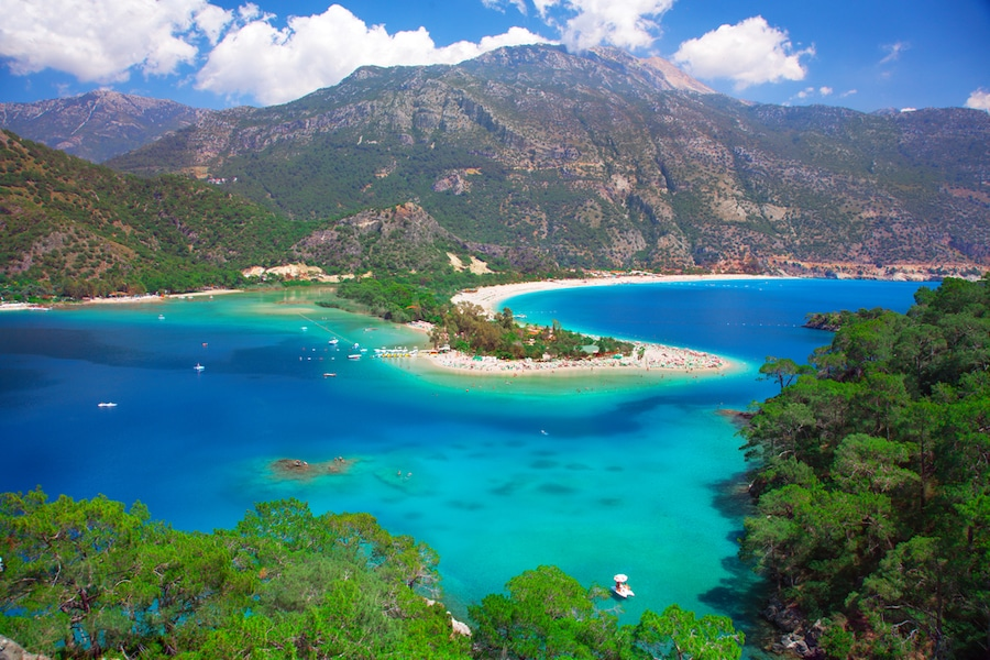 Things to do in Oludeniz - Blue lagoon in Oludeniz, Turkey