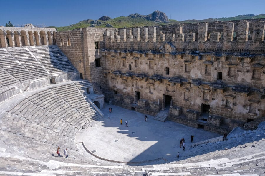 Best places to visit in Turkey - Aspendos