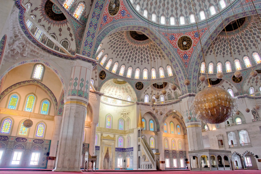 Ankara Turkey - Ankara Turkey -Inside of Kocatepe Mosque_Turkey_Depositphotos_2206122_s-2019