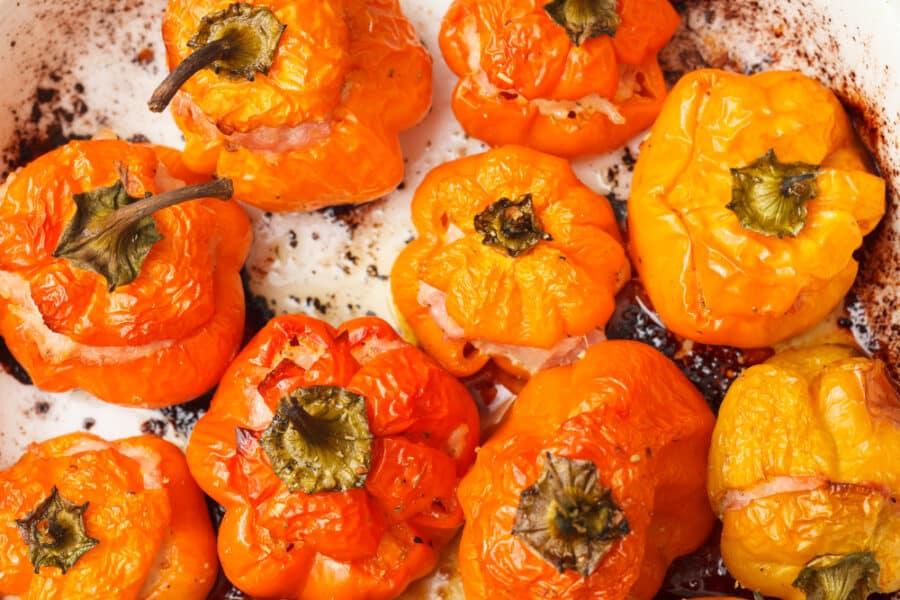 Ardei Umpluti_Stuffed Romanian Peppers