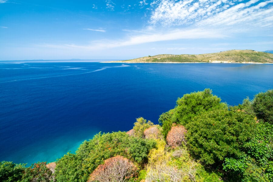 Things to do in Himare, Albania - Beautiful coast on albanian riviera in Porto Palermo Albania