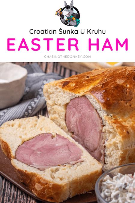Croatian Recipes_Easter Ham In Bread_Sunka U Kruhu