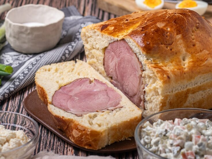 How To Make Croatian Ham In Bread Recipe (sunka u kruhu) - Easter In Croatia