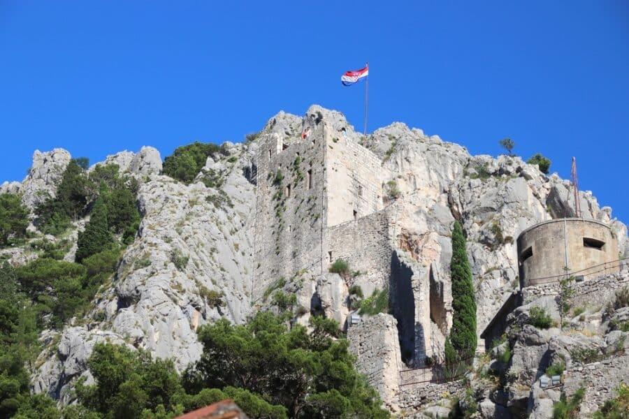 Omis Croatia - Omis Mirabela fortress
