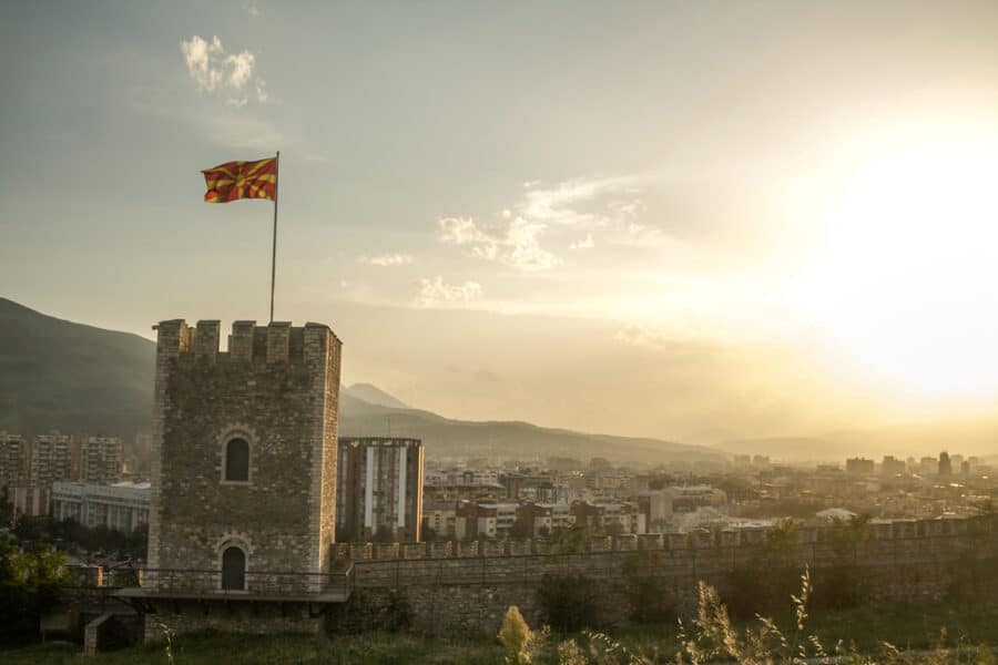 Archaeological Sites in Macedonia - Outlook tower of the Skopje Fortress