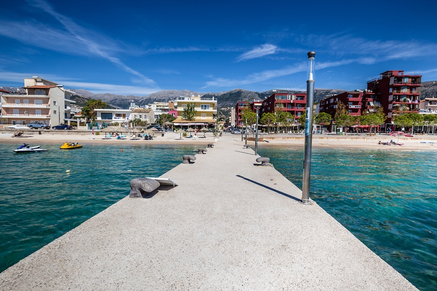 Things To Do In Himare, Albania - Pier In Himara City - Vlore, Albania