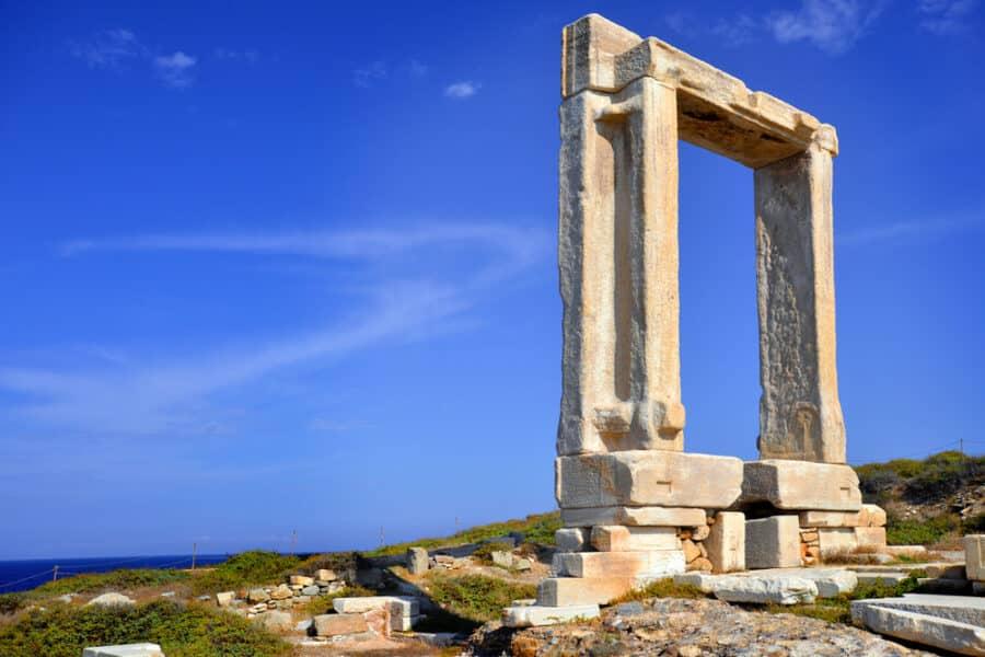 Naxos Island, Greece - Portara, Naxos island, Greece