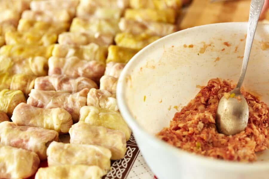 Sarmale, a Romanian traditional dish