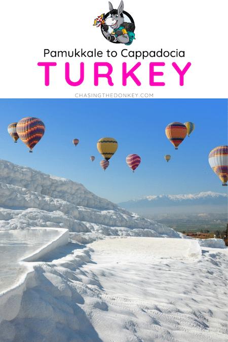 Turkey Travel Blog_How To Get From Pamukkae to Cappadocia