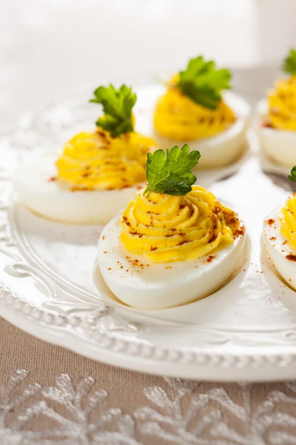 ouă umplute_Romanian Devil Eggs