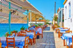 Aegina Greece Guide - Perdika Waterfront