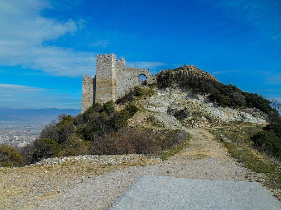 Archaeological Sites in Macedonia - Carevi Kuli, Strumica