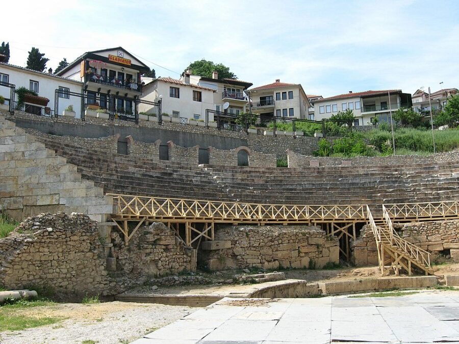 Archaeological Sites in Macedonia - Greco-Roman_amphitheatre,_Ohrid