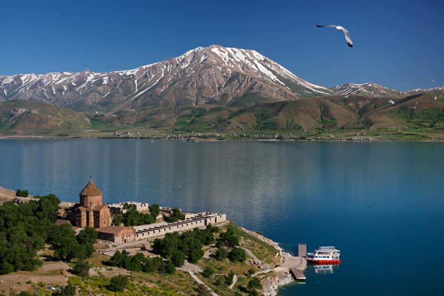 Turkish Islands _ Akdamar Island, eastern Turkey