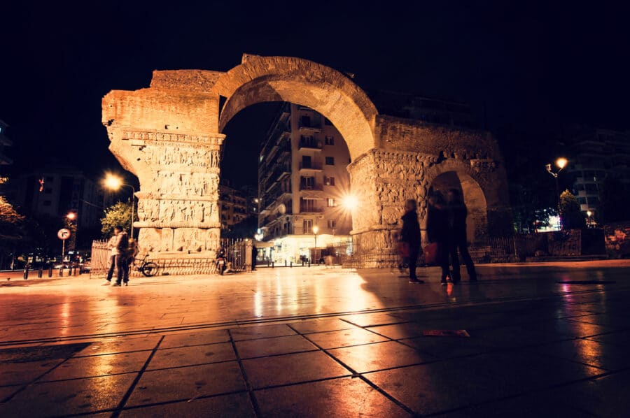Things to do in Thessaloniki Greece - Things to do in Thessaloniki Greece - Arch of Galerius and Rotunda in Thessaloniki