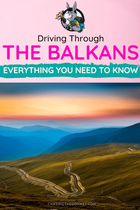 Balkans Travel Blog_Driving In The Balkans
