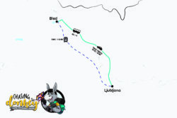 How To Get From Bled To Ljubljana To Bled Map