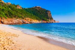 Sandy Beaches In Turkey - Cleopatra beach