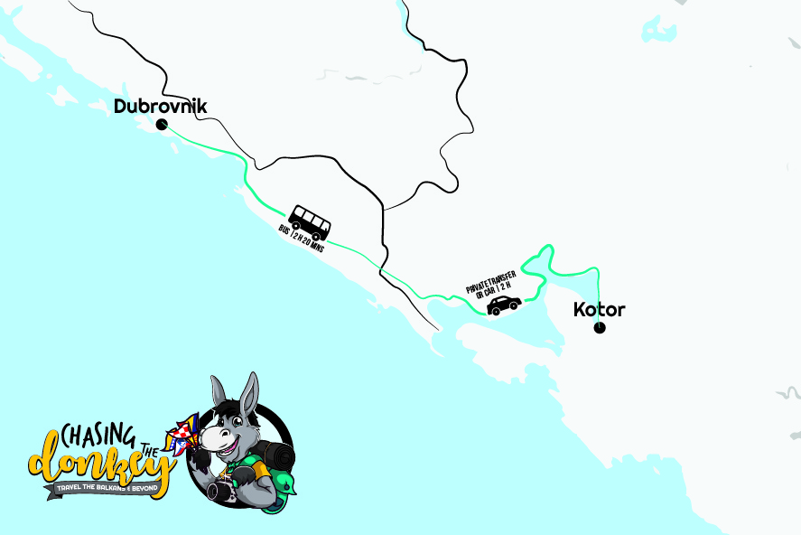 How To Get From Kotor To Dubrovnik (& Dubrovnik To Kotor) In 2021