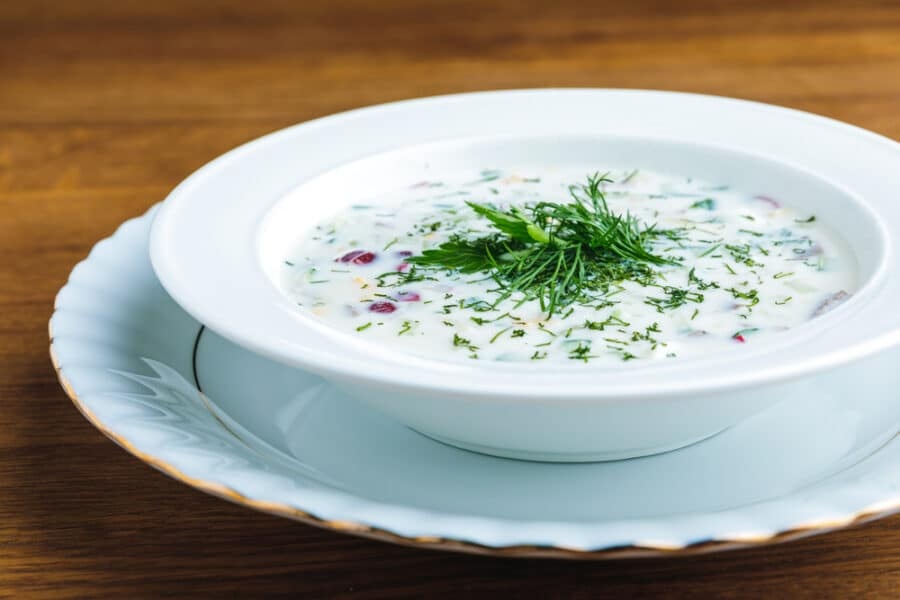 Food In Bulgaria - Tarator Soup