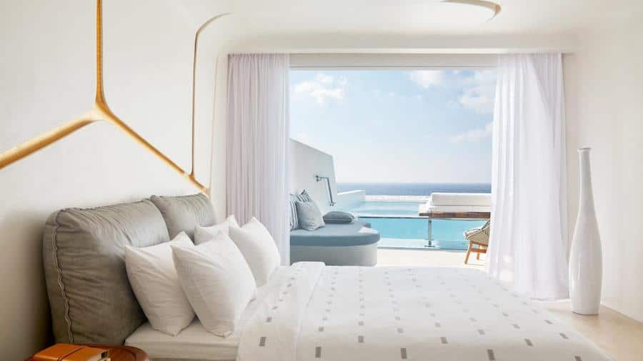 Greece Travel Blog_Best Hotel Caves In Greece_Cavo Tagoo Mykonos