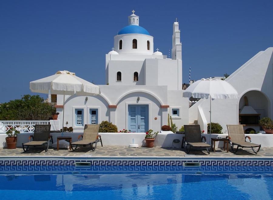 Greece Travel Blog_Things To Do In Santorini With Kids_Aethrio Sunset Village - Oia