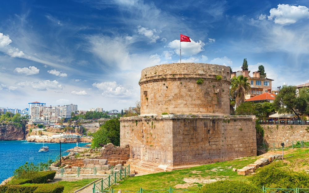 Antalya Guide - Hidirlik Tower in Antalya, Turkey