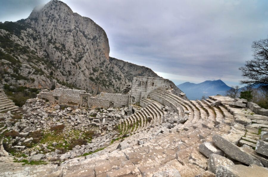 What to see in Anyalya Turkey - Termessos Theatre