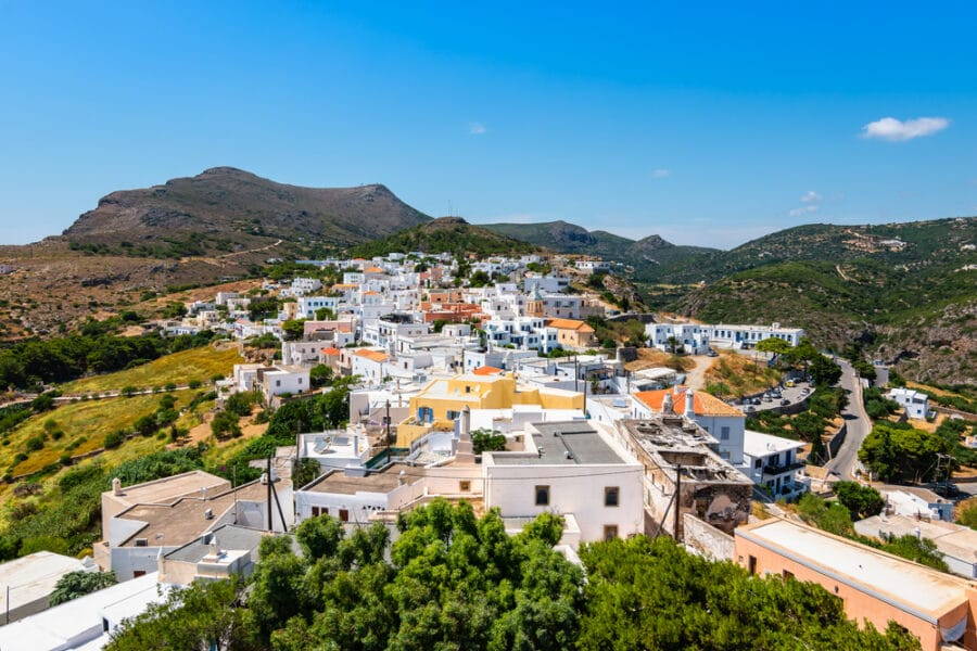 Island Of Kythira Greece - Chora