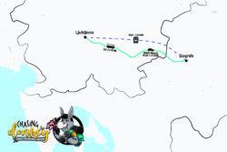 Zagreb To Ljubljana To Zagreb Map