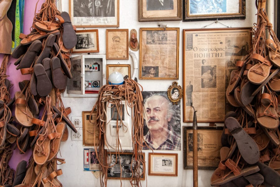 What to buy in Greece - Leather shoes in Athens