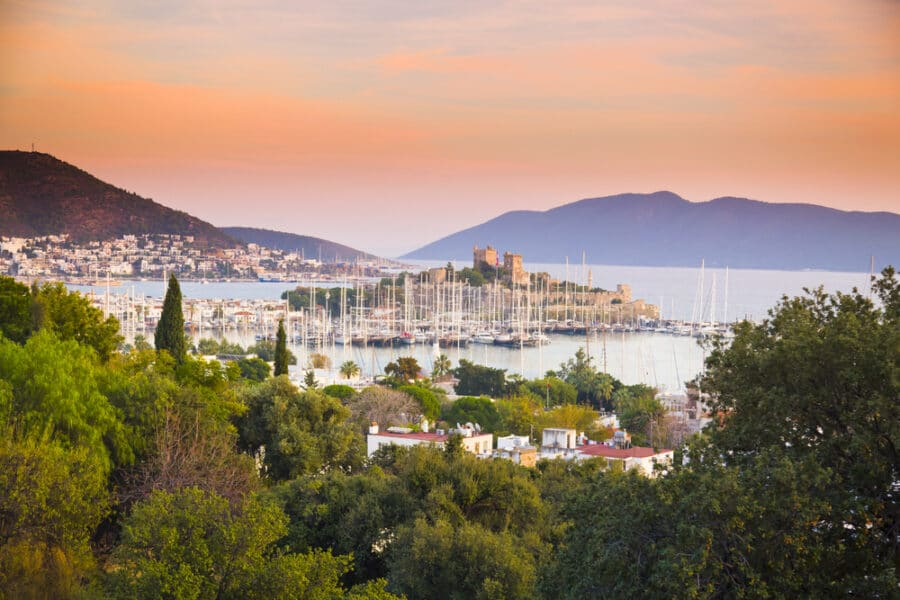 odrum Or Antalya – Antalya Vs Bodrum - Sunset in Bodrum