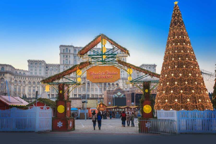 Winter in Romania - Bucharest Christmas Markets Romania