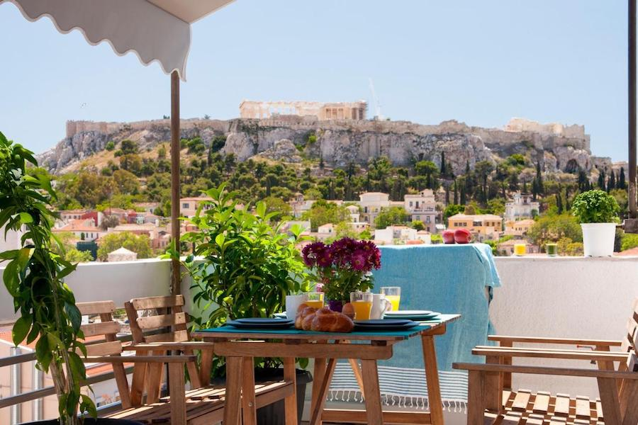 Greece Travel Blog_Best Places To Stay In Athens_Amazing Penthouses With Acropolis View