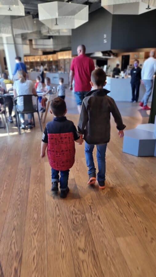 Expat in Croatia - Vlad and Roko holding hands
