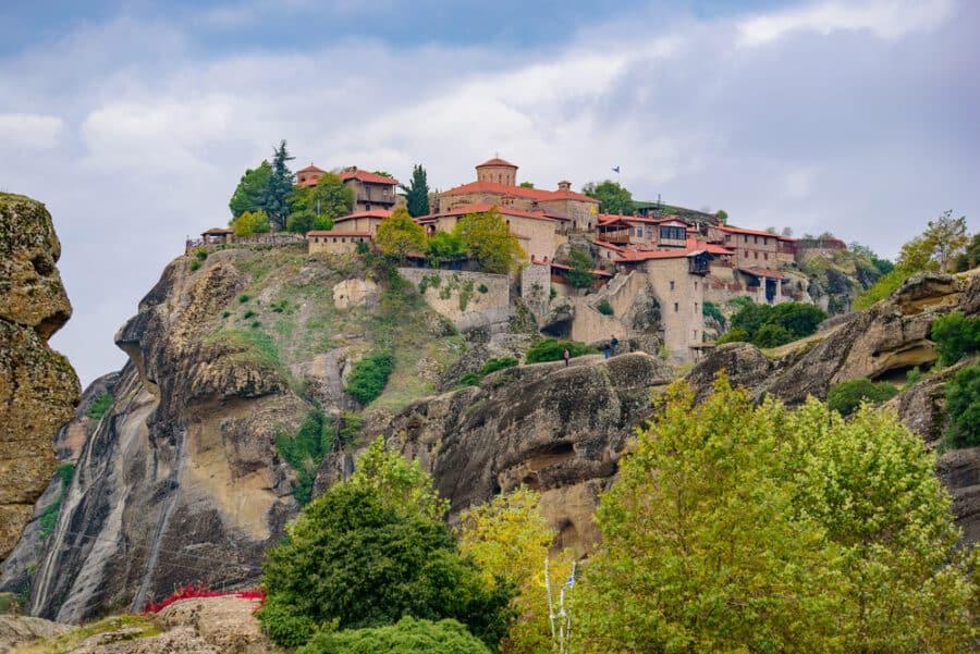 Meteora Monasteries_Holy Monastery of Great Meteoron, the largest_Greece