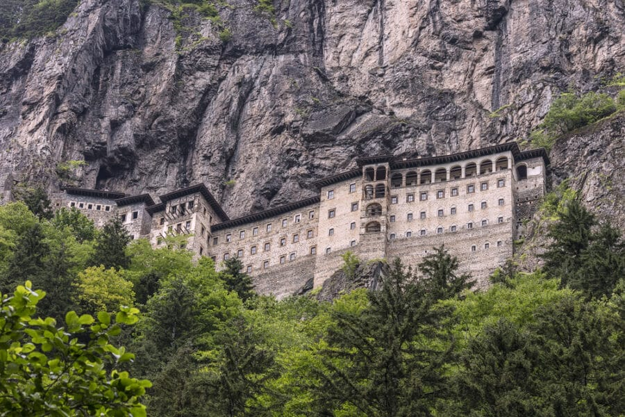 Cities in Turkey - Trabzon - Sumela Monastery