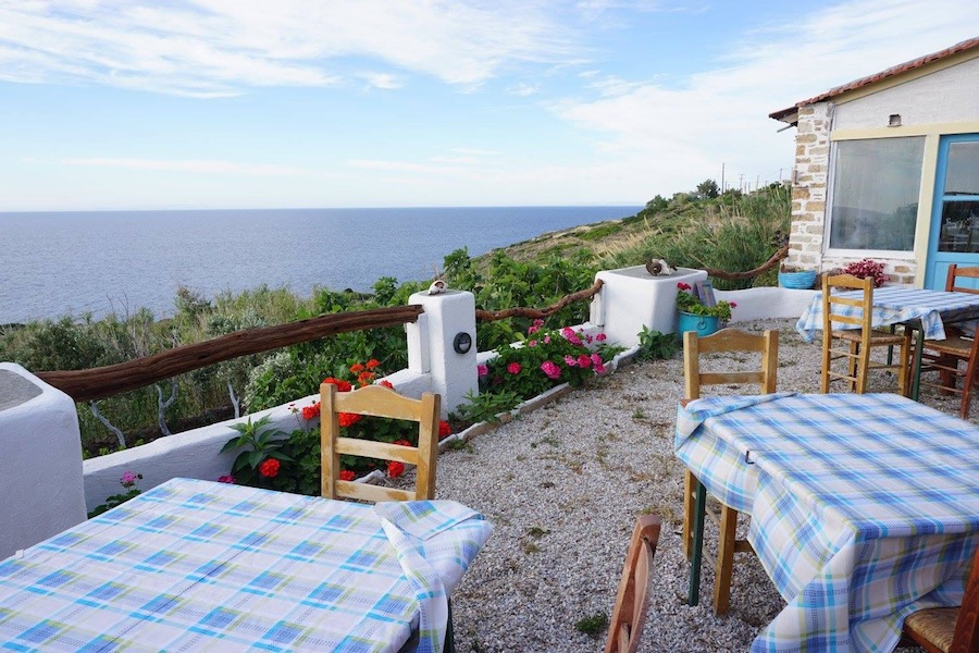 Greece Travel Blog_Ikaria Island Guide_Thea's Restaurant