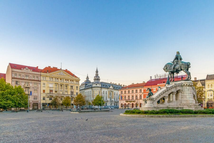 Things to do in Cluj_Unirii Square
