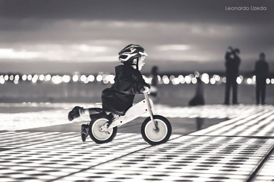 zadar greeting to the sun Leonardo Uzeda black and white